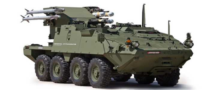 US Army to send new Strykers armed with Hellfire missiles to Europe to counter Russia.