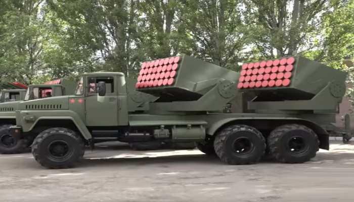 """أنظمة إطلاق الصواريخ المتعددة """"تشابيوريشكا – Cheburashka"""" الجديدة. 100120"""
