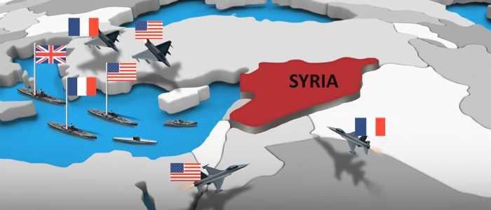 الضربة العسكرية الغربية المحدودة في سوريا ... الكيفية والدلالات 100160