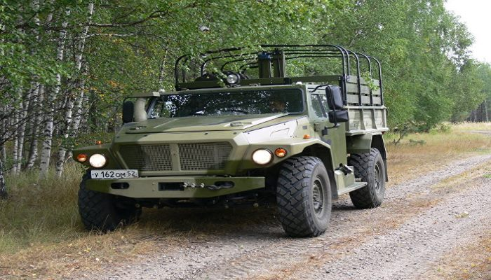 إستئناف تصميم مدرعة VOLK الخفيفة للجيش الروسي. 100416