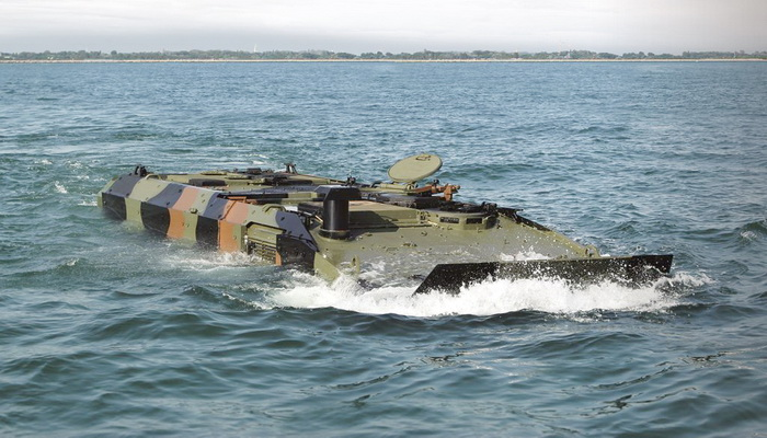 BAE Systems submitted its bid for the Amphibious Combat Vehicle