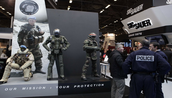 Milipol paris for Salon milipol