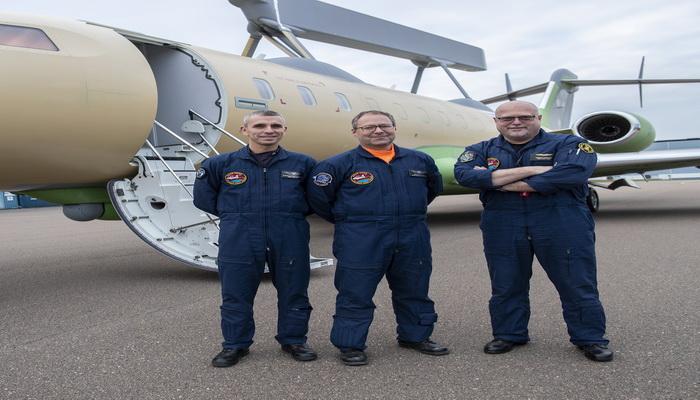 ساب تنجز بنجاح أول رحلة لطائرة الإنذار المبكر GlobalEye AEW & C 10000215