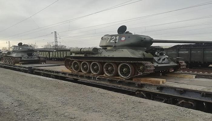 روسيا تشتري دبابات قديمة من طراز تي - 34 من لاوس. 10000261
