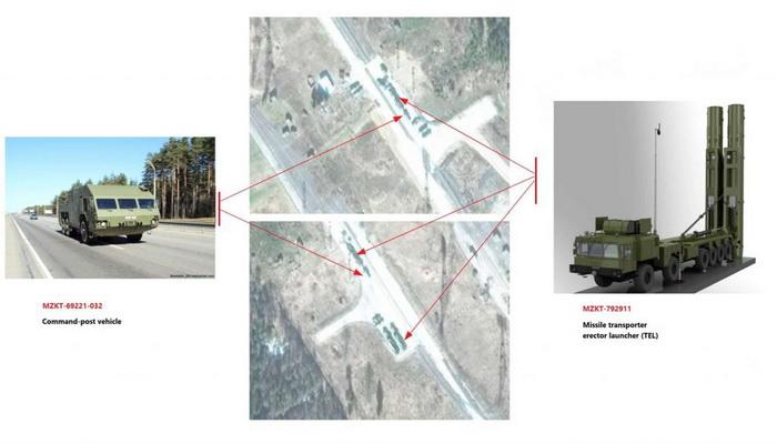 صور فضائية تظهر أنظمة الأسلحة الروسية الجديدة المضادة للأقمار الصناعية. 10000321