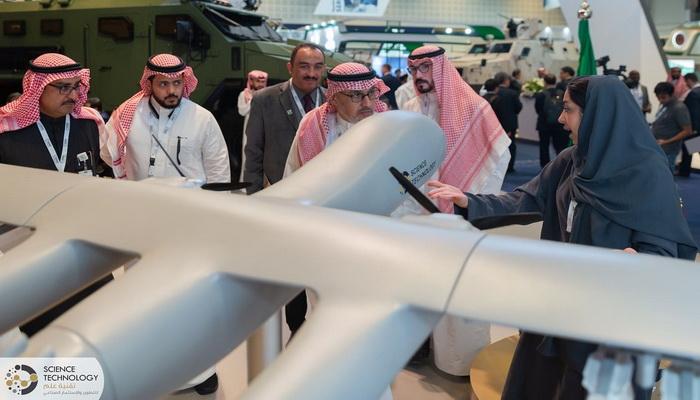 """شركة """"Science Technology"""" السعودية تطلق برنامجا لتطوير قاذفة ثقيلة غير مأهولة. 101115"""