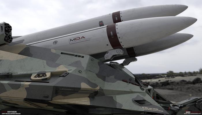 مهام اللواء 100 للدفاع الصاروخي الامريكي 101381