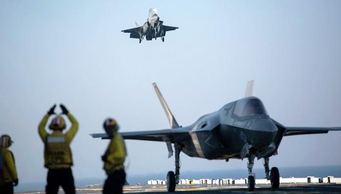 """اختفاء مقاتلة من طراز """"إف-35"""" تابعة لليابان فوق الهادئ 101385"""