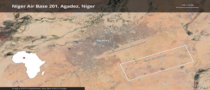 "U.S. Air Base Reconnaissance ""A B-201"" Niger ... The shadow war base against terrorism."