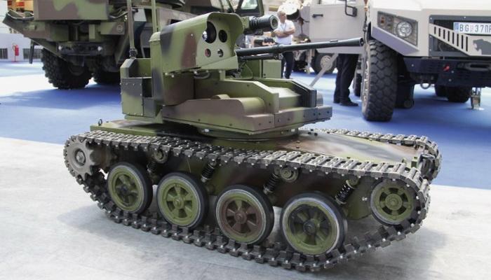 """صربيا تطلق مرحلة الإنتاج لمركبات ميلوس """"Milos"""" البرية ذاتية التحكم الجديدة 00181"""