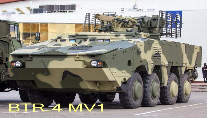 ناقلة الأفراد المدرعة BTR-4 MV1 الاوكرانيه 011