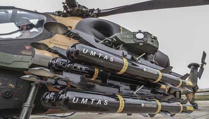 """""""روكيتسان"""" التركية تختبر بنجاح منظومة صواريخ موجهة بالليزر 776"""