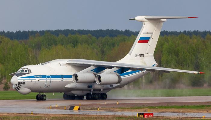 """القوات الجوية والفضائية الروسية تتسلم أول طائرة نقل مطورة من طراز إليوشن """"Il-76 MD-M"""". 200223"""