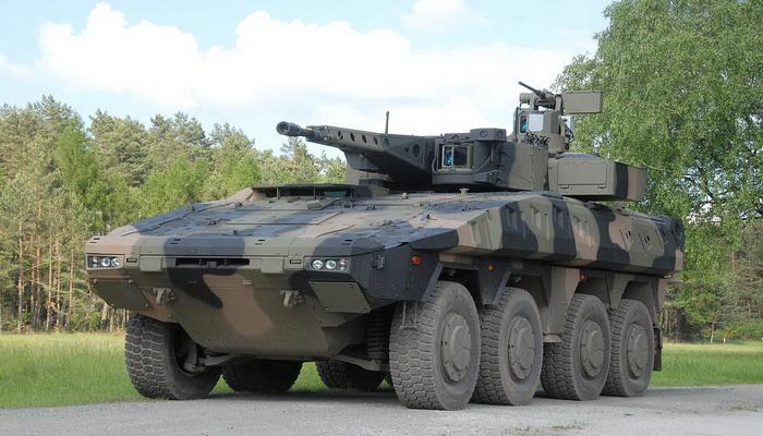 شركة راينميتال Rheinmetall ستقوم بتزويد قوات الدفاع الأسترالية بأكثر من 200 Boxer 8×8 المدرعة 200239