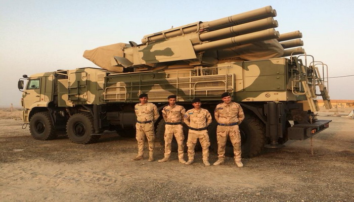 العراق يتسلّم منظومات الدفاع الجوي بانستير إس-1 (PANTSIR S1) الروسية . 200254