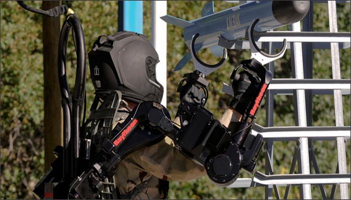 بدلة الروبوت XOS2 القتالية الجديدة 2034