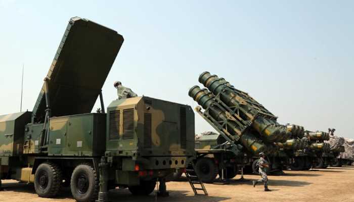 منظومة الدفاع الجوي الصينية العلم الأحمر HQ-16Bتنجح في اعتراض صواريخ كروز. 300171