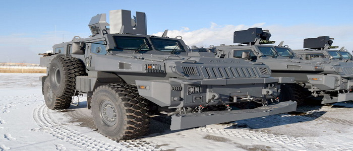 Paramount Group ramps up deliveries of armoured vehicles to Kazakhstan Armed Forces