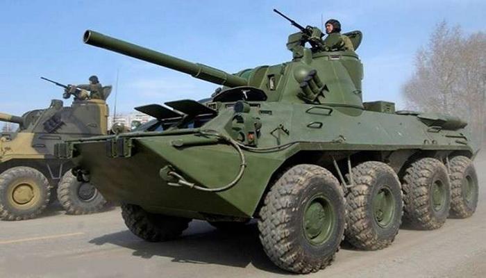 وحدات المدفعية بالجيش الروسي تتسلم مدافع هاوتزر تكتيكية ذاتية الحركة طراز NONA - SVK 0000010