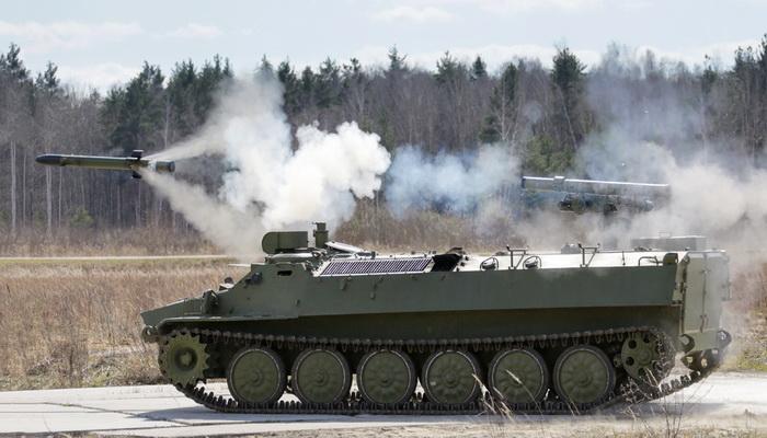 """منظومة """"شتورم- إس"""" قاتلة الدبابات المطورة تبدأ خدمتها في الجيش الروسي 070"""