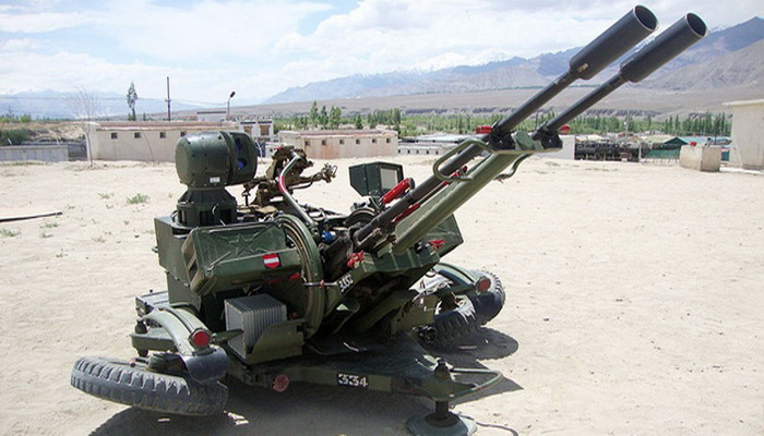 India new tender to replace L-70 and ZU-23-2 air defense guns