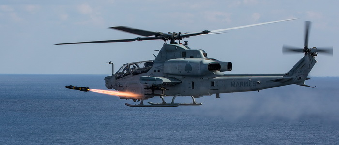 US Navy Tests New Joint-air-to-ground Missile on AH-1Z Helicopter