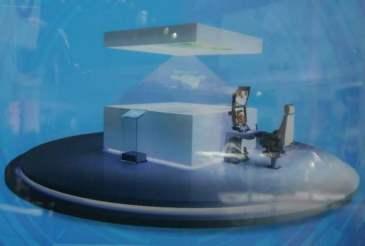 الصين تطور مركز للتحكم في هولوجرام طائرة بدون طيار Holo-uav