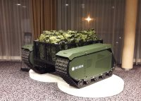 Milrem exhibits its fully customizable UGV at IDEX together with IGG, AEC and Raytheon