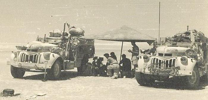 """من ملفات الحرب العالمية الثانية """"مجموعة الصحراء بعيدة المدى وعملية الهجوم على مرزق """" LRDG-12"""