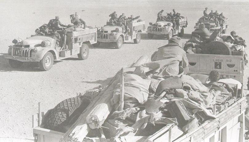 """من ملفات الحرب العالمية الثانية """"مجموعة الصحراء بعيدة المدى وعملية الهجوم على مرزق """" Lrdg-10"""