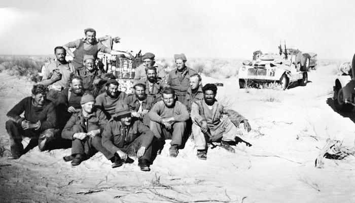 """من ملفات الحرب العالمية الثانية """"مجموعة الصحراء بعيدة المدى وعملية الهجوم على مرزق """" Lrdg-16"""
