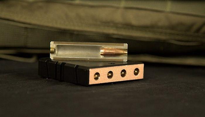 ribbon gun : بندقية فريدة تطلق 4 رصاصات دفعة واحدة. 100649