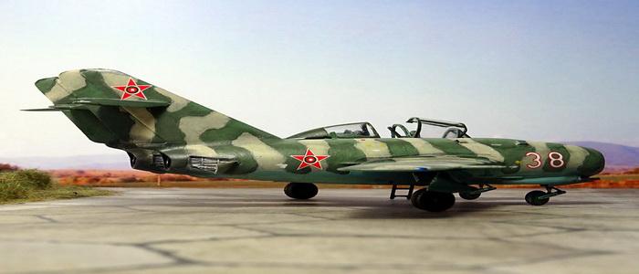 المقاتلة التوأم البلغارية UMiG-15MT ... تطوير جريء وتاريخي. 101771